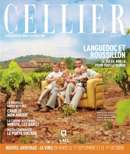 Couverture Celllier - Mas-de-cynanque vin saint-Chinian