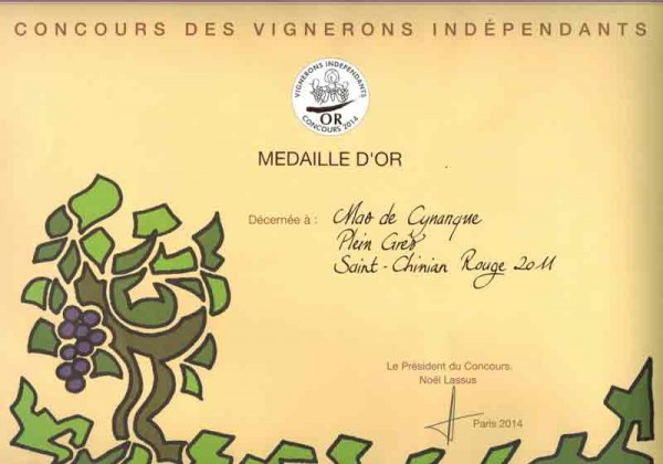 mas-de-cynanque-plein-gres-medaille-vignerons-independants